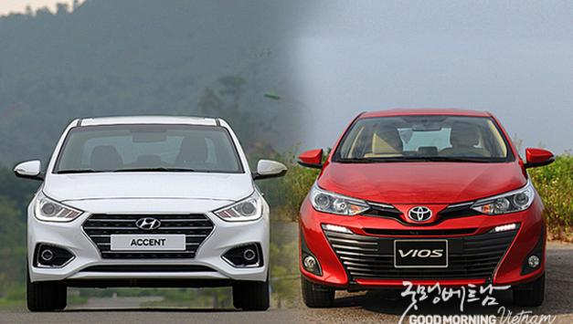 베트남에서 인기있는 일본자동차를 왕좌에서 끌어내린 한국자동차