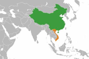 [경제] 베트남, 중국과 무역 적자는 390억달러, 중국의 6대 교역국이다.